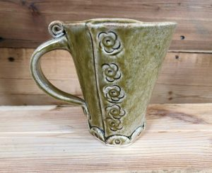 Example of Mother's Day Workshop mug - Stone Circle Pottery