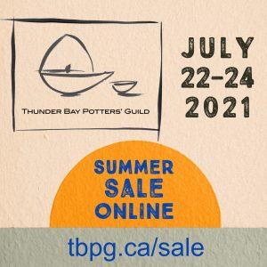 Thunder Bay Potters' Guild Summer Sale 2021 - Online!